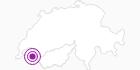Unterkunft Gîte-auberge le Cloret in Portes du Soleil - Chablais: Position auf der Karte