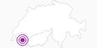 Unterkunft Hotel Crychar in Portes du Soleil - Chablais: Position auf der Karte