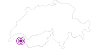 Unterkunft Hotel L`ours Blanc in Portes du Soleil - Chablais: Position auf der Karte