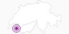 Unterkunft Hotel La Croix Blanche in Portes du Soleil - Chablais: Position auf der Karte