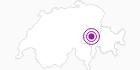 Unterkunft Schule Andiast in Surselva: Position auf der Karte