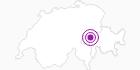 Unterkunft Fewo Casut Carigiet in Surselva: Position auf der Karte
