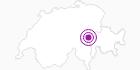 Unterkunft Fewo Tödi in Surselva: Position auf der Karte