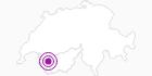 Accommodation Le Temps de Vivre in Ovronnaz: Position on map