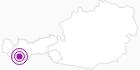 Unterkunft Activ Apart-Pension Bergfrieden im Tiroler Oberland: Position auf der Karte