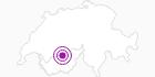Unterkunft Badehotel Regina Terme in Leukerbad: Position auf der Karte