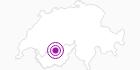 Unterkunft Hotel Alpina in Leukerbad: Position auf der Karte