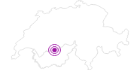 Accommodation Fewo La Bohème in Leukerbad: Position on map