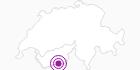 Unterkunft Chalet Carlina in Zermatt: Position auf der Karte