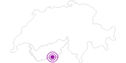 Unterkunft Chalet Huwi in Zermatt: Position auf der Karte