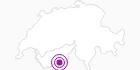 Unterkunft Chalet Le Refuge in Zermatt: Position auf der Karte