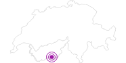 Unterkunft Fewo Haus Haro in Zermatt: Position auf der Karte