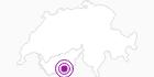 Unterkunft Appartements Alpenstern in Zermatt: Position auf der Karte