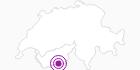 Unterkunft Fewo Haus Gornergorge in Zermatt: Position auf der Karte
