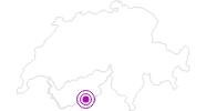 Unterkunft Fewo Haus St. Bernhard in Zermatt: Position auf der Karte