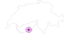 Unterkunft Alpenhotel Täsch in Zermatt: Position auf der Karte