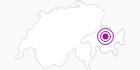 Unterkunft Hotel und Café Kaiser in Arosa: Position auf der Karte
