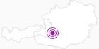 Unterkunft Bergführer Blockhaus in Obertauern: Position auf der Karte