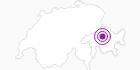 Unterkunft Garni Café Bar Ortler in Arosa: Position auf der Karte