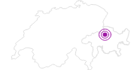 Unterkunft Garni Wiesenheim in Chur: Position auf der Karte