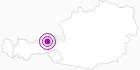 Unterkunft Fewo Eder V. in Wildschönau: Position auf der Karte