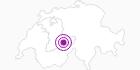 Unterkunft Fewo Rainhus 1-2 in der Jungfrau Region: Position auf der Karte