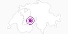 Unterkunft Fewo Breithorn parterre in der Jungfrau Region: Position auf der Karte