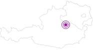 Unterkunft Hotel Sporthaus Hochkar im Mostviertel: Position auf der Karte