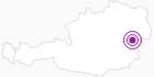 Unterkunft Walserstube am Arlberg: Position auf der Karte