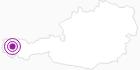 Unterkunft Haus Moosmann am Arlberg: Position auf der Karte