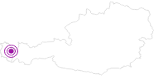 Unterkunft Ferienhof Jochum am Arlberg: Position auf der Karte