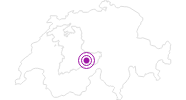 Accommodation Boutique Hotel & Restaurant Glacier in the Jungfrau region: Position on map