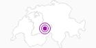 Unterkunft Bäregghütte in der Jungfrau Region: Position auf der Karte