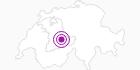 Unterkunft Gletscherfloh in der Jungfrau Region: Position auf der Karte