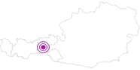Unterkunft Frühstückspension(ferienwohnung) Gugglberger im Zillertal: Position auf der Karte