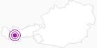 Unterkunft Fewo Vier Jahreszeiten in Serfaus-Fiss-Ladis: Position auf der Karte