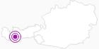 Unterkunft Ferienwohnungen Gifle in Serfaus-Fiss-Ladis: Position auf der Karte