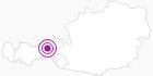 Unterkunft Kreutwieshütte im Zillertal: Position auf der Karte