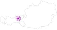 Unterkunft Kaiserhof im Ski Juwel Alpbachtal Wildschönau: Position auf der Karte