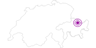 Unterkunft Hotel Alpina in Davos Klosters: Position auf der Karte