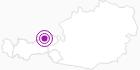 Unterkunft Hütte Erzherzog-Johann-Klause im Ski Juwel Alpbachtal Wildschönau: Position auf der Karte
