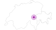 Accommodation Camp Salins in Disentis Sedrun: Position on map