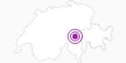 Unterkunft Camp Salins in Disentis Sedrun: Position auf der Karte