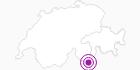 Accommodation Motterasciohütte in Disentis Sedrun: Position on map