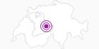 Accommodation Chalet Chutzenäscht in the Haslital: Position on map