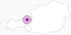 Unterkunft Garni Hotel Gruber in Kitzbüheler Alpen - St. Johann - Oberndorf - Kirchdorf: Position auf der Karte