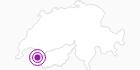 Accommodation Chambres d`hôtes Carrauxatout in Portes du Soleil - Chablais: Position on map