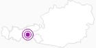 Unterkunft Gästehaus Tanneck im Zillertal: Position auf der Karte