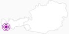 Unterkunft Gasthof Piz Buin in Paznaun - Ischgl: Position auf der Karte