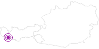 Webcam Galtür - Kopssee in Paznaun - Ischgl: Position auf der Karte